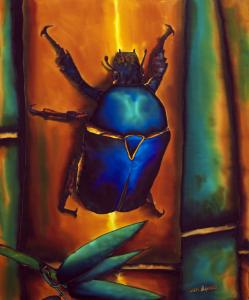 BEAUTIFUL BUGS,  how to paint on silk